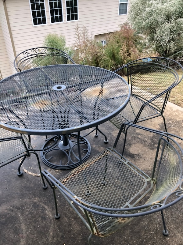 Wrought Iron Patio Set In Norcross Letgo