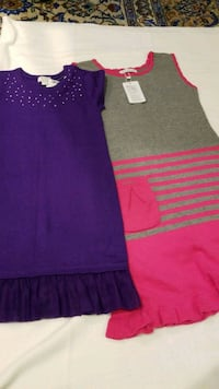 2x girls dress sz 7-8 and 10-11 Toronto, M5P 2K3