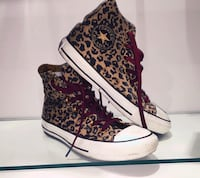 coppia di top converse All-Star con stampa leopardata Sant'Angelo, 80070