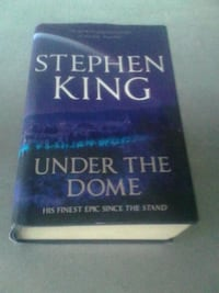 Stephen King Under The Dome novel book St. John's, A1S 1L7