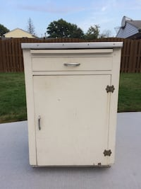 White storage cabinet  Saint Clair Shores, 48082