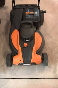 Worx 40v x 2 Battery Mower Neptune, 07753
