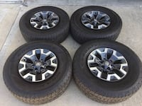 Toyota Tacoma Sequoia 4Runner 16in TRD Sport Wheels with 98% tread Rosemead, 91770