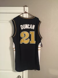 Brand New Tim Duncan Authentic Wake Forest Jersey Size XXXL  Terrytown, 70068