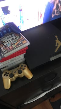 Sony PS3 slim console with controller and game cases Las Vegas, 89110