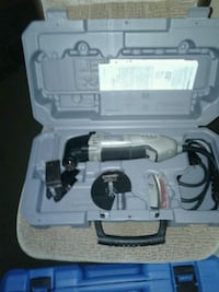 white and black corded power tool Fort Saskatchewan, T8L 2B9