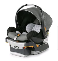 black and gray Chicco car seat carrier screengrab 410 mi