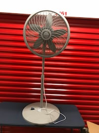 gray Lasko pedestal fan Washington, 20024