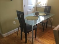 Glass Dining Table CAPITOLHEIGHTS