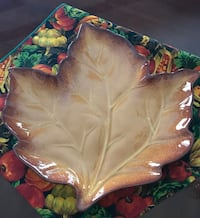 2 large fall platters  Rocky Mount, 27803