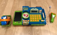blue and green Vtech learning toy Laval, H7T