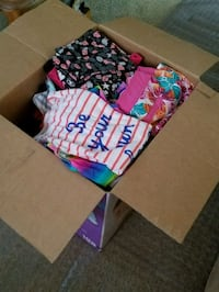 Girls clothes. Huge box full Downey, 90241
