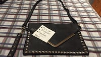 Black and silver crossbody bag Toronto, M6J 2P6