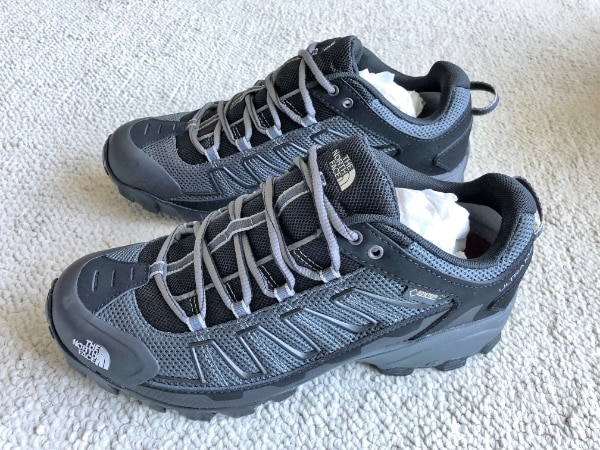22e5edd82 The North Face Ultra 109 Gore-TEX Running/Hiking Shoe Mens size 8.5 TNF  Black/Dark Shadow Gray - NEW