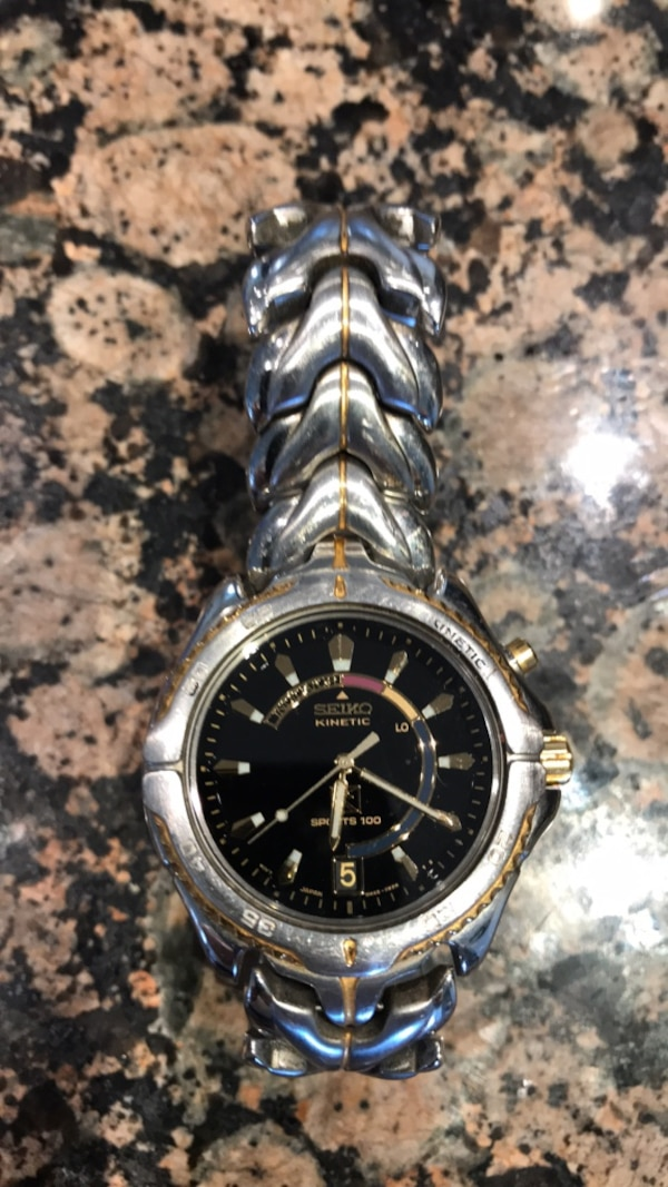 50a56d77a2a0 Used Seiko Sports 100 Kinetic watch for sale in Haslet - letgo