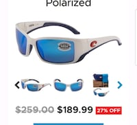 white and blue Oakley sunglasses Yorktown, 23692