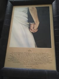 """""""I do"""" framed picture & quote Columbus, 43206"""