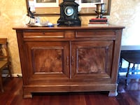 Circa 1880's antique  sideboard, likely French, valued at $1800 Lafayette, 70508