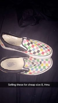 pair of multicolored Gucci slip-on shoes Kelowna, V1V 2L8