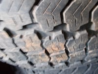 Four 265/70/18 Kumho Road Venture AT tires with 50% tread Winston-Salem
