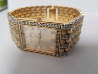 WITTNAUER LUXURY 12A02 GOLD TONE BRACELET WATCH Mississauga, L5V 2R6