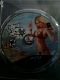 Grand Theft Auto Five PS3 game disc Guelph, N1E