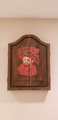 brown wooden framed wall decor CENTREVILLE