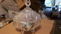 Crystal dish with lid White Rock, V4B 3W8