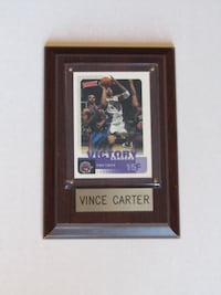 Vince Carter Toronto Raptors Basketball Card