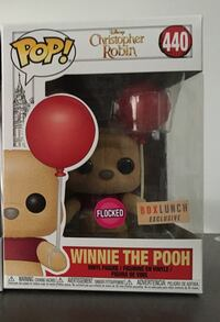 Winnie the Pooh Funko pop (flocked / boxlunch exc) Vancouver, V6E 2Y3