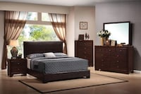Brand new solid wood bedroom set Roslyn Heights, 11577