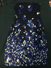 Very lightly used Mango Strapless Floral Dress- Size M Mississauga, L5B