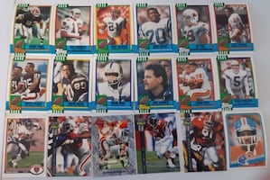 18 NFL Football Cards... $5 Firm For All  Cards.