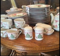 """Vintage """"Home for Christmas"""" Sango dishes New Palestine, 46163"""