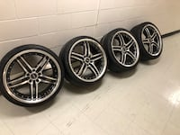 "Set of 19"" Staggered rims Toronto, M1P 0C6"