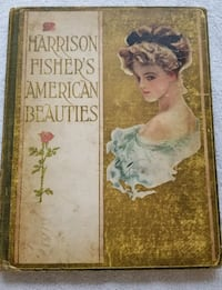 "1st Edition - Harrison Fisher ""American Beauties"" Toronto, M9C 2G9"