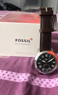Fossil hybrid smartwatch Q series brand new leather belt