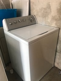 White and gray whirlpool top-load washer Atlanta, 30345