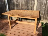 Solid wooden table and 4 chairs, great condition London, EC1R 0HD