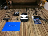 PlayStation Vr Headset, 2 move controllers, camera Kitchener, N2M 1S7