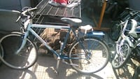 blue and black hardtail mountain bike Los Angeles, 90002