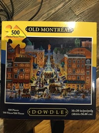 500 piece puzzle. Played once. Made in USA