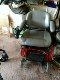 red and black motorized wheelchair Manteca, 95336