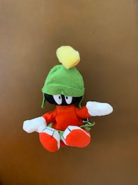 Marvin the Martian Coin Keychain