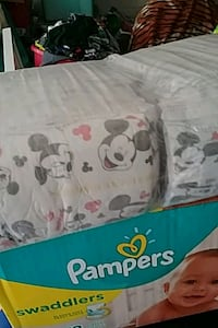 Sleeve of huggies diapers Size 3 fcfs