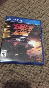 Need for Speed PS4 game case New Westminster, V3M 5J9