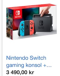 Nintendo switch felfri Jordbro, 137 63