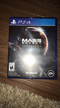 Sony ps4 mass effect andromeda game case Winnipeg, R3K 1W8