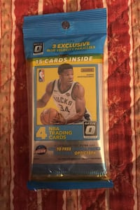 1 jumbo pack of 2017/18 Optics basketball cards Inc 3 card pack bonus Beltsville, 20705