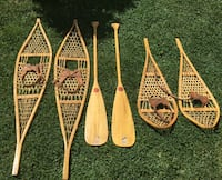 Vintage Snow shoes and paddles Windsor, N8S 2P7